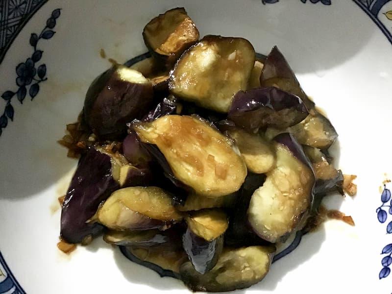 中華風 ナスの炒め物