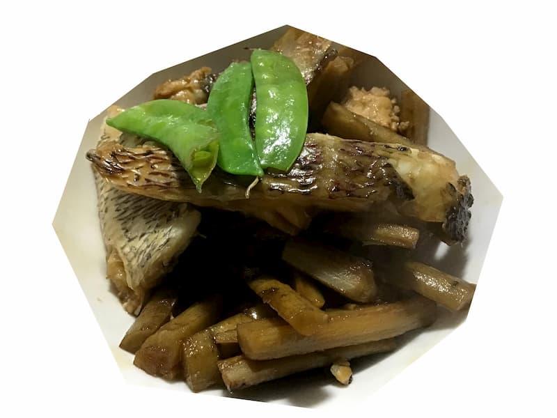 養殖鯛の煮物