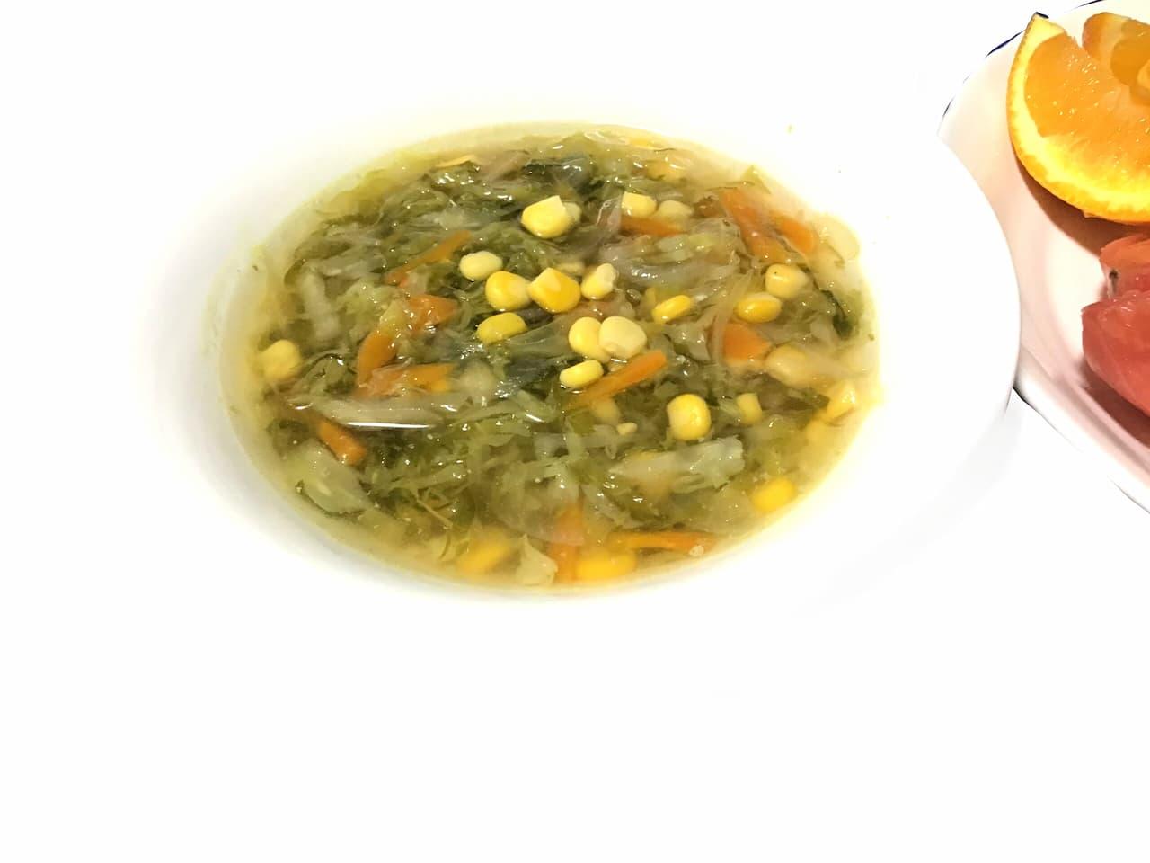 ジョリエンヌスープ・冷蔵庫に残った野菜で作る野菜スープ